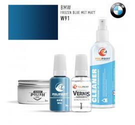 W91 FROZEN BLUE MET MATT BMW