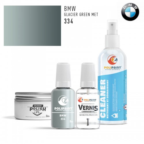 Stylo Retouche BMW 334 GLACIER GREEN MET