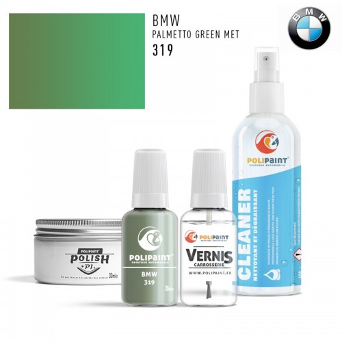 Stylo Retouche BMW 319 PALMETTO GREEN MET