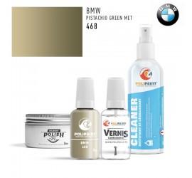 468 PISTACHIO GREEN MET BMW