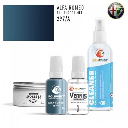 Stylo Retouche Alfa Romeo 297/A BLU AURORA MET