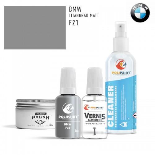 Stylo Retouche BMW F21 TITANGRAU MATT