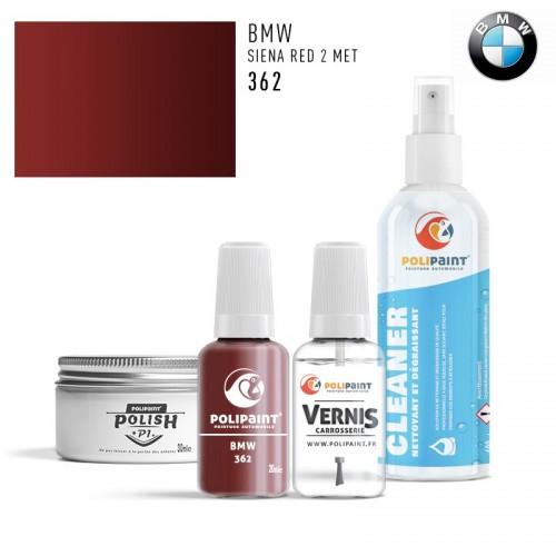 Stylo Retouche BMW 362 SIENA RED 2 MET
