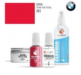 281 SIENA RED PEARL BMW