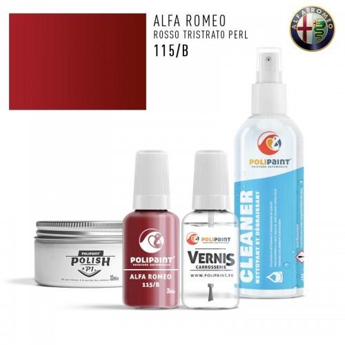 Stylo Retouche Alfa Romeo 115/B ROSSO TRISTRATO PERL