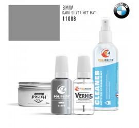 11008 DARK SILVER MET MAT BMW