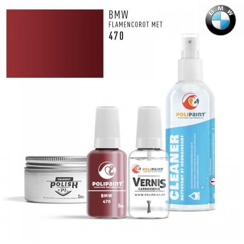 Stylo Retouche BMW 470 FLAMENCOROT MET