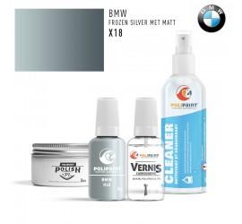 X18 FROZEN SILVER MET MATT BMW