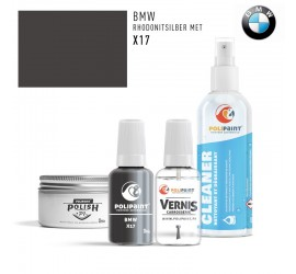 X17 RHODONITSILBER MET BMW