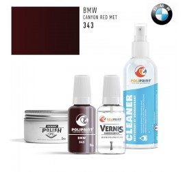 343 CANYON RED MET BMW