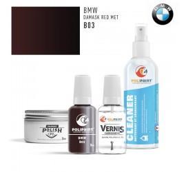B03 DAMASK RED MET BMW