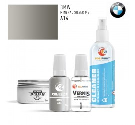 A14 MINERAL SILVER MET BMW