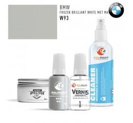 W93 FROZEN BRILLIANT WHITE MET MAT BMW