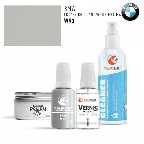 Stylo Retouche BMW W93 FROZEN BRILLIANT WHITE MET MAT