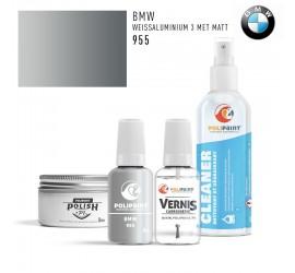 955 WEISSALUMINIUM 3 MET MATT BMW