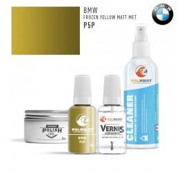P5P FROZEN YELLOW MATT MET BMW