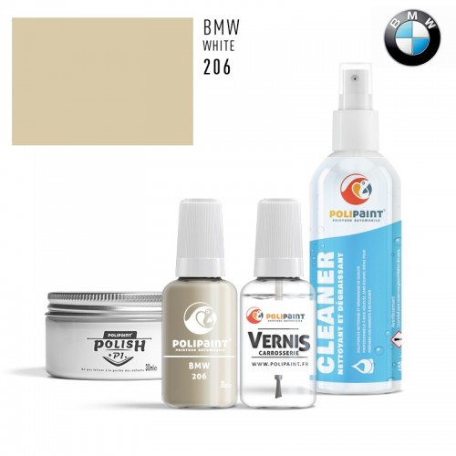 Stylo Retouche BMW 206 WHITE