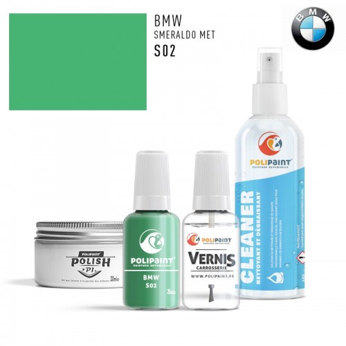 Stylo Retouche BMW S02 SMERALDO MET