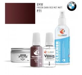 P71 FROZEN DARK RED MET MATT BMW