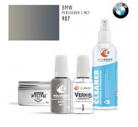 907 PERLSILBER 2 MET BMW