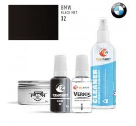 32 BLACK MET BMW