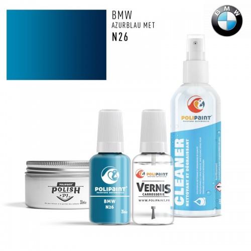 Stylo Retouche BMW N26 AZURBLAU MET
