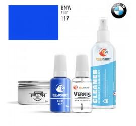 117 BLUE BMW