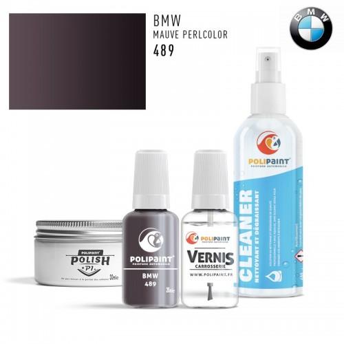 Stylo Retouche BMW 489 MAUVE PERLCOLOR