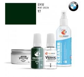97 MINT GREEN BMW