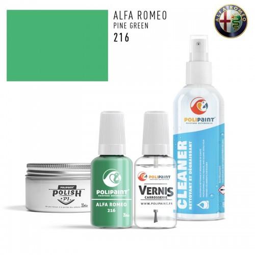 Stylo Retouche Alfa Romeo 216 PINE GREEN