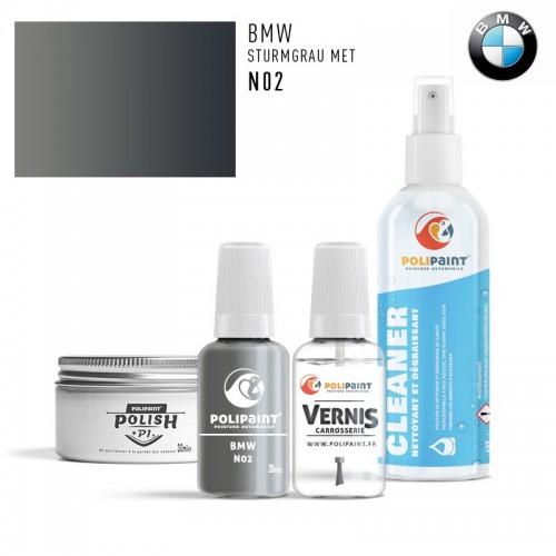 Stylo Retouche BMW N02 STURMGRAU MET