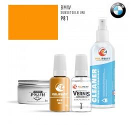 981 SUNSETGELB UNI BMW