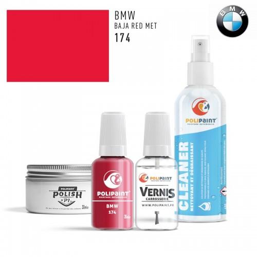 Stylo Retouche BMW 174 BAJA RED MET