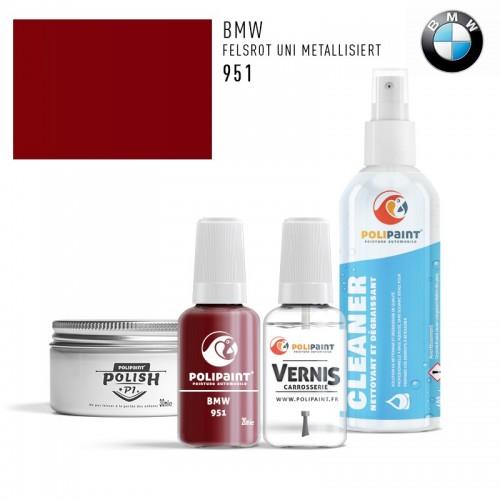Stylo Retouche BMW 951 FELSROT UNI METALLISIERT