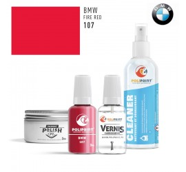 107 FIRE RED BMW