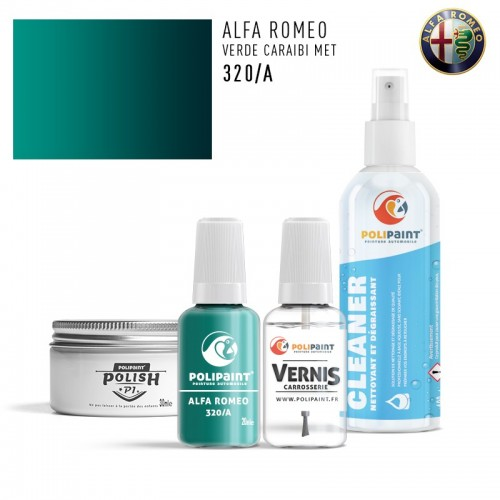 Stylo Retouche Alfa Romeo 320/A VERDE CARAIBI MET