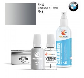 M4Y DIMESILVER MET MATT BMW